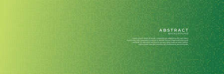 Abstract halftone dots background in green colors. Green diamond colorful abstract background vector