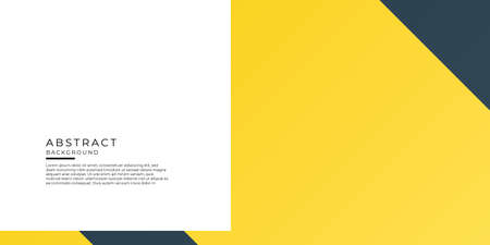 Business presentation template design and page layout design for brochure, tech banner, annual report and company profile with abstract geometric graphic elements