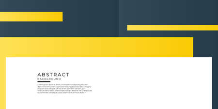 Business presentation template design and page layout design for brochure, tech banner, annual report and company profile with abstract geometric graphic elements Vektoros illusztráció
