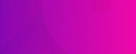 Purple pink background with circle line glowing dots gradient style 写真素材