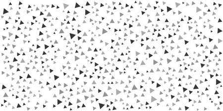 Abstract triangle on white background. Modern background for business or technology presentation. Vector illustration
