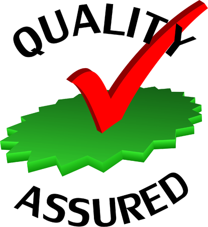 assured: Quality assured badgelabel