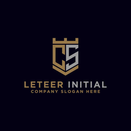 Inspiring company logo designs from the initial letters of the CS logo icon. -Vectors