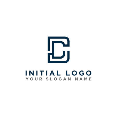 logo design inspiration for companies from the initial letters of the DC logo icon. -Vector Stockfoto - 151087984