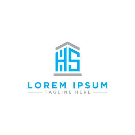 Letter HS Initial icon / logo design Monogram inspiration. - vector