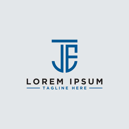 Inspiring company logo designs from the initial letters JE logo icon. -Vectors Ilustração