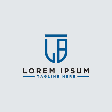 logo design inspiration, for companies from the initial letters LB logo icon. -Vectors