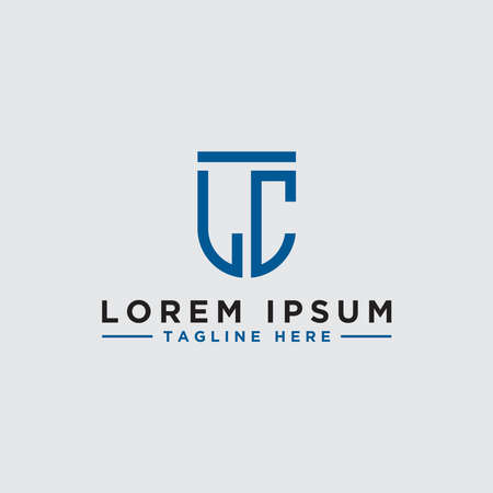 logo design inspiration for companies from the initial letters of the LC logo icon. -Vector