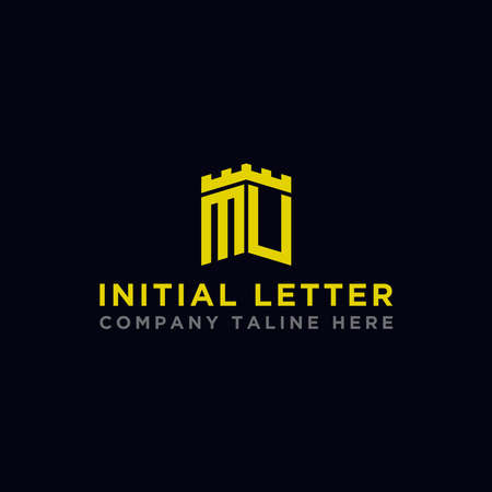 Inspiring company logo designs from the initial letters of the MU logo icon. -Vectors Logo