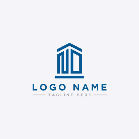 ND letters Initial icons / Monogram.- Vector inspiration logo design - Vector