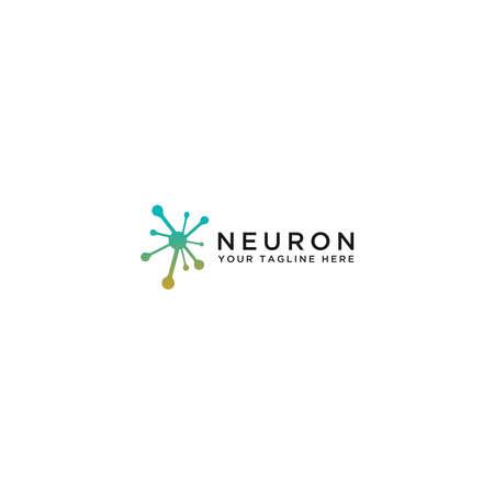 The concept of the Neuron logo. Logos available in Eps vectors. - Vector