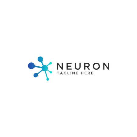 The concept of the Neuron logo. Logos available in Eps vectors. - Vector Logo