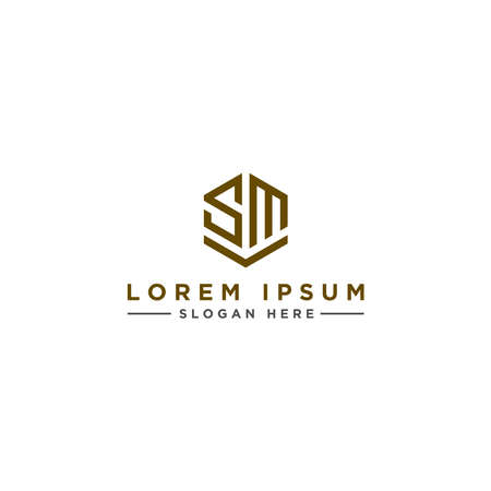 Inspiring company logo designs from the initial letters of the SM logo icon. -Vectors