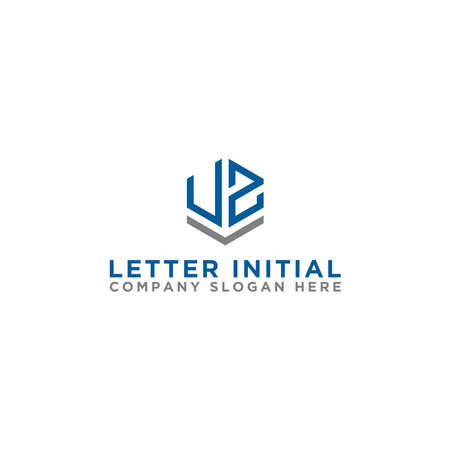 logo design inspiration for companies from the initial letters of the VZ logo icon. -Vector