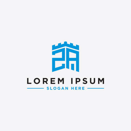 Inspiring company logo designs from the initial letters ZA logo icon. -Vectors