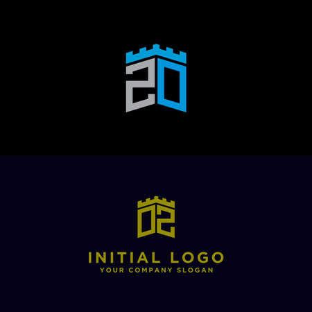 design inspiration, the monogram logo for the company from the initial letter of the ZO logo icon. -Vectors