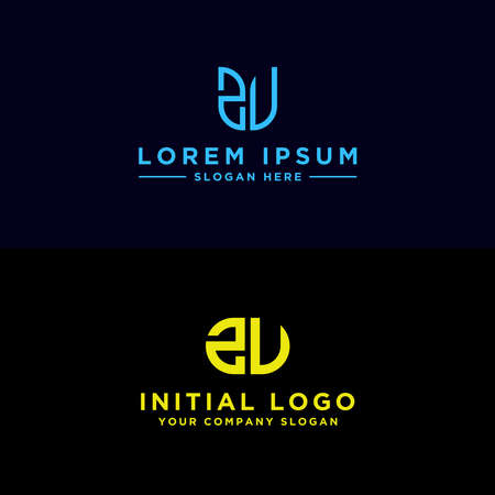 design inspiration, the monogram logo for the company from the initial letter of the ZV logo icon. -Vectors