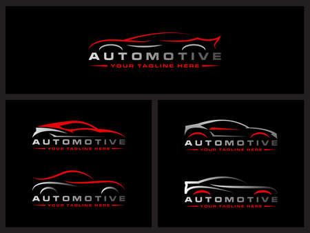 Car wash logo car automobiler race car automotive design