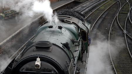 Steam engine at Bridgnorth