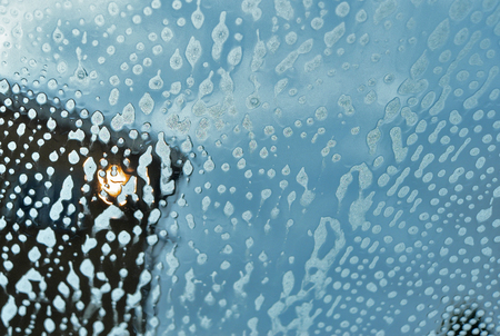 windscreen at car wash
