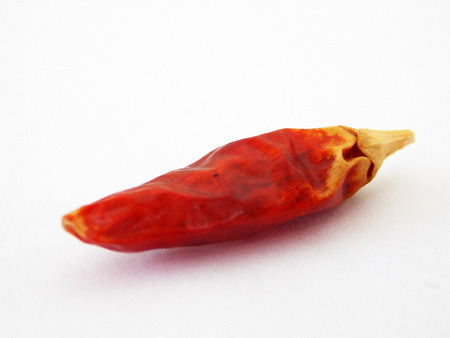 Dried Red Hot Chili Pepper photo