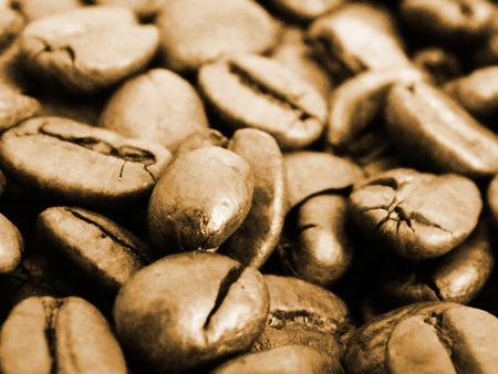 decaffeinated: Coffee beans