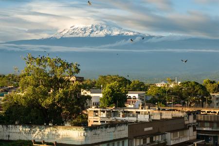 Kilimanjaro from Moshi, Tanzania