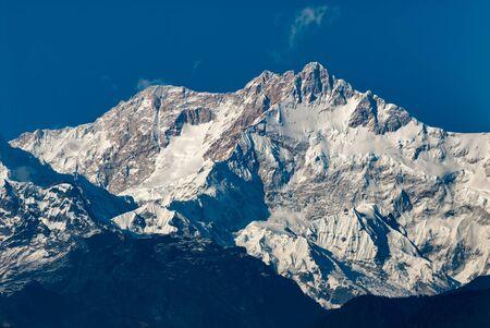 View on Kangchenjunga from Pelling, Sikkim, India