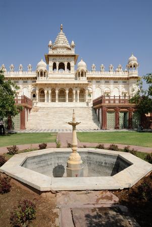 Jaswant Thada mausoleum near Jodhpur, Rajasthan, India