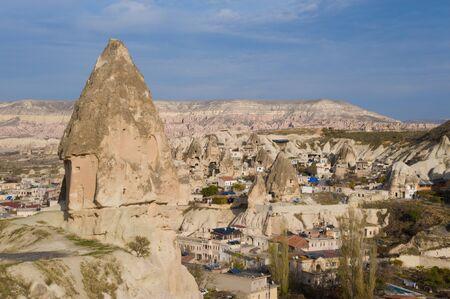 Goreme in Cappadocia, Turkey Zdjęcie Seryjne