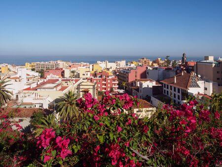 View on Puerto de la Cruz, Tenerife, Canary Islands, Spain Reklamní fotografie