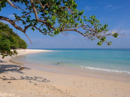 Paradise beach on Koh Rok island in southern Thailand