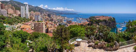 Panorama of Monte Carlo, Monaco