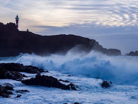 Punta de Teno Lighthouse, Tenerife, Canary Islands, Spain Reklamní fotografie