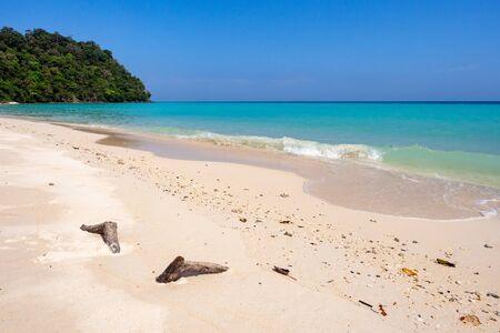 Pristine beach on Koh Rok island in southern Thailand Reklamní fotografie