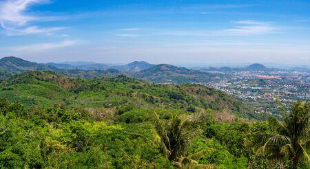 Panorama of Phuket island, Thailand Reklamní fotografie