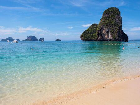 Phra Nang beach in Railay, Krabi, Thailand