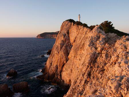 Sunset on Cape Lefkada, Greece