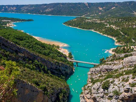 Verdon Gorge and Lake of Sainte-Croix