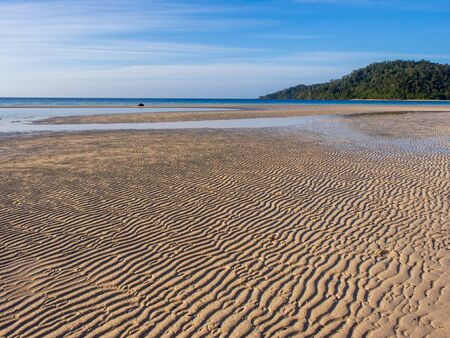 Low tide on Koh Rok island in southern Thailand Reklamní fotografie