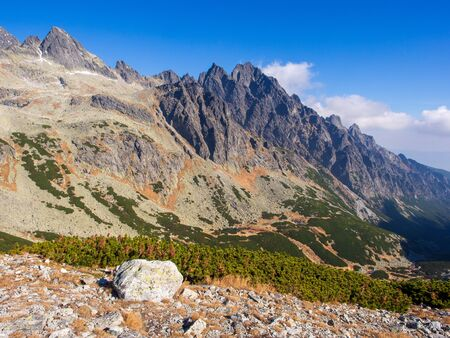 Valley in National Park of High Tatras, Slovakia