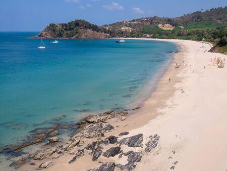 Ba Kantiang Beach on Ko Lanta island, Krabi, Thailand