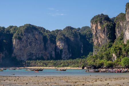 View on Tonsai beach from Railay West in Krabi, Thailand