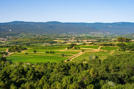 Countryside in Luberon, Provence, France