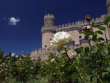medieval castle in spain Standard-Bild