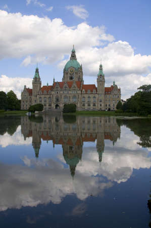 new townhall of  Hannover