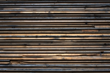 wood textures: Slats of wood stacked with a rough texture