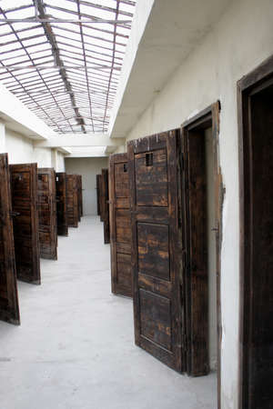 concentration camp: Prison rooms in the concentration camp in Terezin