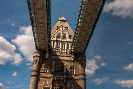 London, England - June 12, 2016: London Bridge on the Thames, Uk.