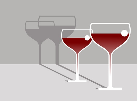 poured: Red Wine